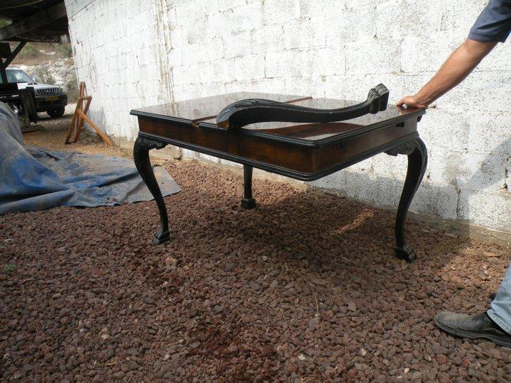 204 שיפוץ וחידוש רהיטים ישנים ועתיקים